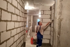Выравнивание стен 7