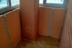 Утепление и отделка балконов,  лоджий 1