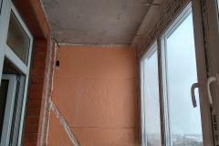 Утепление и отделка балконов,  лоджий