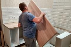 Установка кухонной мебели 1