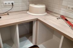 Установка кухонной мебели 3