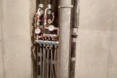 Монтаж черновой электрики, сантехники