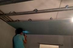 Монтаж потолков из гипсокартона 5