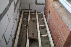 Новое Павлино. Ремонт балкона 2