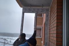 Новое Павлино. Ремонт балкона 22