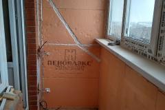 Новое Павлино. Ремонт балкона 13