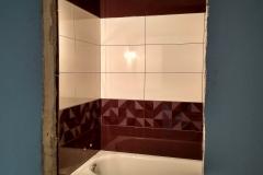 Новое Павлино. Ремонт ванной в 1-комнатной квартире 54