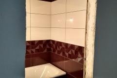 Новое Павлино. Ремонт ванной в 1-комнатной квартире 55