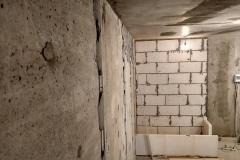 Возведение перегородок, выравнивание стен 1