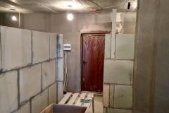 Возведение перегородок, выравнивание стен 24