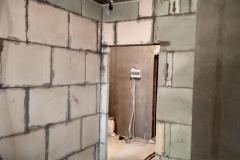 Возведение перегородок, выравнивание стен 26