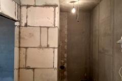 Возведение перегородок, выравнивание стен 27