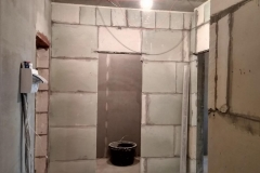 Возведение перегородок, выравнивание стен 28