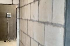 Возведение перегородок, выравнивание стен 29